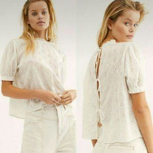 FREE PEOPLE - Letters To Juliet Top Back Tie